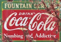 coca cola numbing and adictive